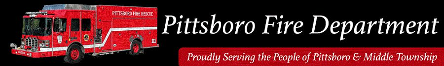 banner image for the Pittsboro Fire Department